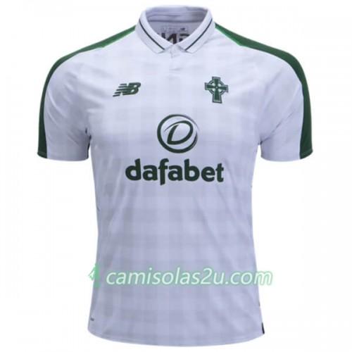 new product 578b5 1b5c5 Camisolas de Futebol Celtic Equipamento Alternativa 2018/19 Manga Curta