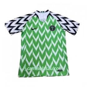 631571a54 Camisolas de Futebol Nigéria Equipamento Principal Copa do Mundo 2018 Manga  Curta