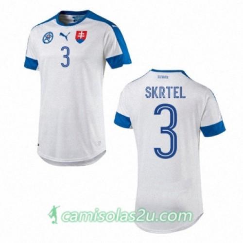 Camisolas de Futebol Eslováquia MARTIN SKRTEL Equipamento Principal Euro 2016