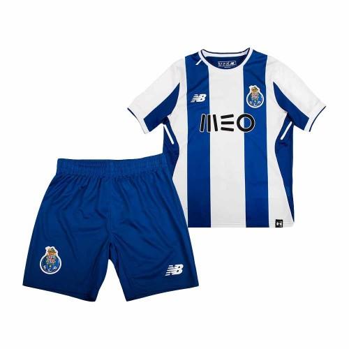 Camisolas de Futebol Porto Criança Equipamento Principal 2017/18 Manga Curta