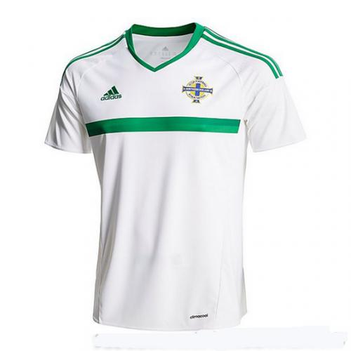 Camisolas de Futebol Irlanda do Norte Equipamento Alternativa Euro 2016