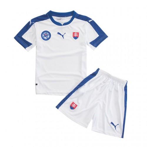 Camisolas de Futebol Eslováquia Criança Equipamento Principal Euro 2016