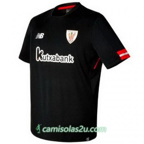 Camisolas de Futebol Ath. Bilbao Equipamento Alternativa 2017/18 Manga Curta
