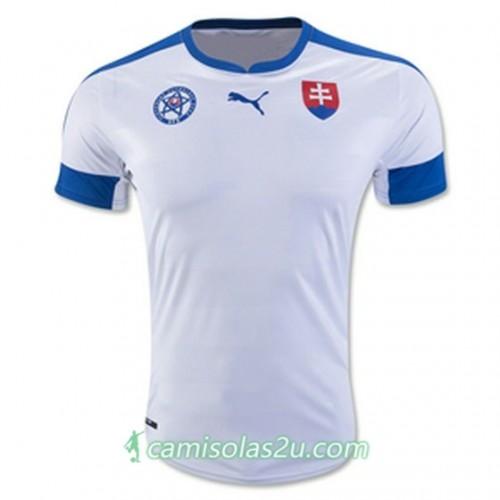 Camisolas de Futebol Eslováquia Equipamento Principal Euro 2016