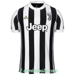 Camisolas de Futebol Juventus Equipamento Principal 2017/18 Manga Curta