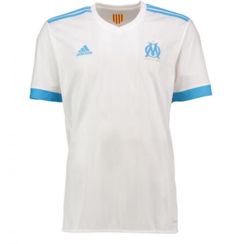 c9f40f41d Camisolas de Futebol Olympique de Marseille Equipamento Principal 2017 18  Manga Curta