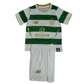 Camisolas de Futebol Celtic Criança Equipamento Principal 2017/18 Manga Curta