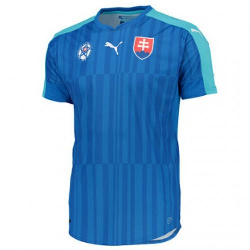 Camisolas de Futebol Eslováquia Equipamento Alternativa Euro 2016