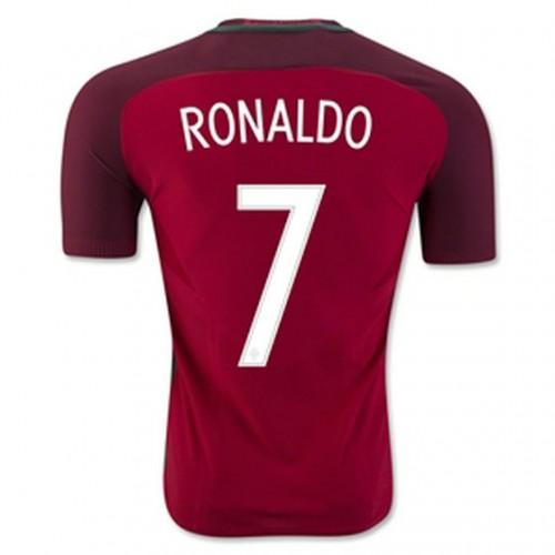f27febea5dacb Camisolas de Futebol Portugal RONALDO Equipamento Principal Euro 2016