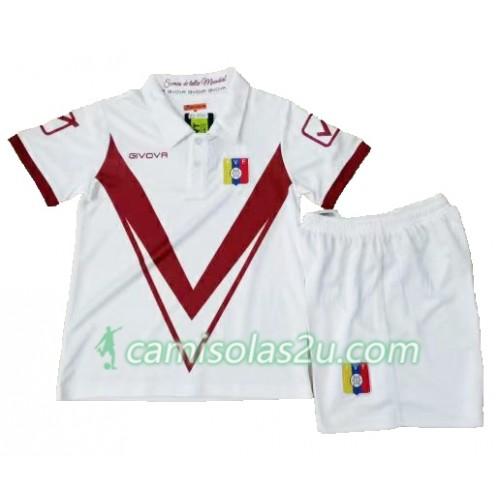 4bafa64a53 Camisolas de Futebol Venezuela Criança Equipamento Alternativa Copa América  2019 Manga Curta